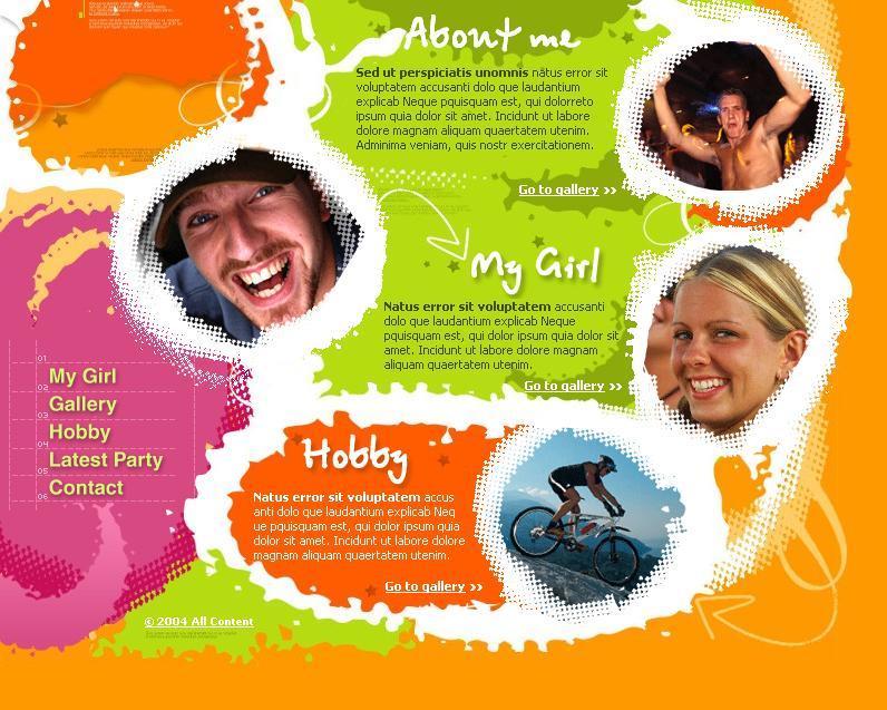 The Colorful Personal Site / Пъстър личен сайт